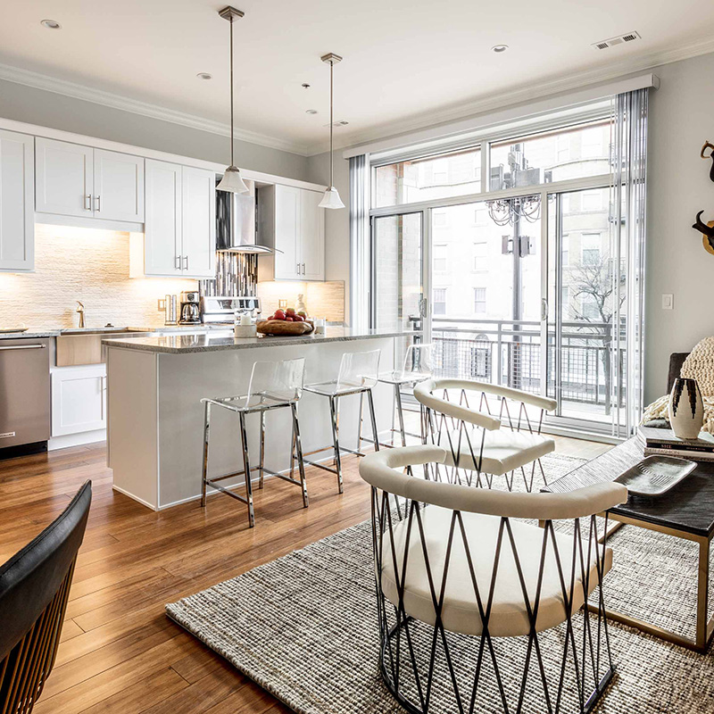 West Loop Apartments - Ashland Place - 2-Bedroom 2-Bath Model