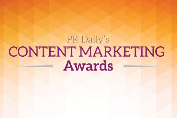 content marketing award